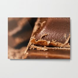 Belgian Milk Chocolate Metal Print