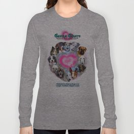 Gentle Giants Rescue and Adoptions Long Sleeve T-shirt