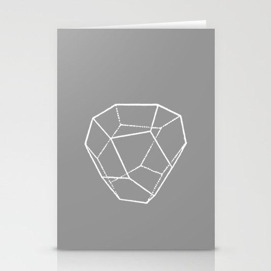 Tetrahedral Pentagonal Dodecahedron Stationery Cards