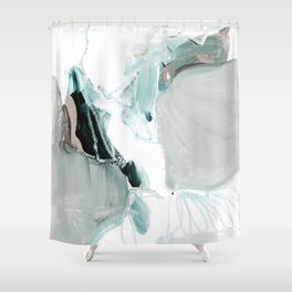 abstract painting XX Shower Curtain