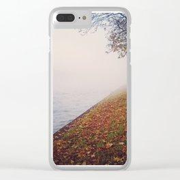 Foggy autumn Clear iPhone Case