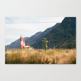 Mountain View in Hope, BC Canvas Print