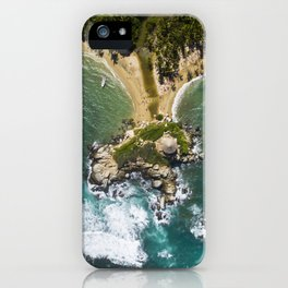 Parque Tayrona from Above iPhone Case