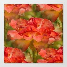 Roses Galore Canvas Print
