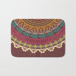 Aztec ornament Bath Mat