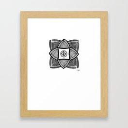 Mimbres Series - 10 Framed Art Print