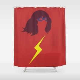 Ms. Kamala Khan Shower Curtain
