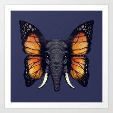 Elepfly Art Print