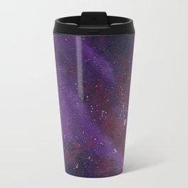 Dueling Purple Galaxies Travel Mug