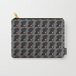 Cute Black Lab Carry-All Pouch