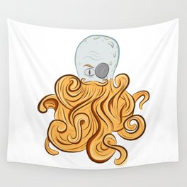 Octo-Beard Wall Tapestry