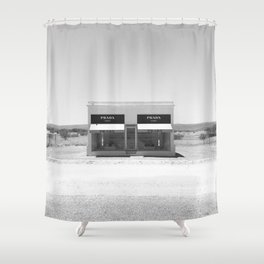Desert Materialism Shower Curtain