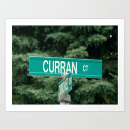 Curran  Art Print