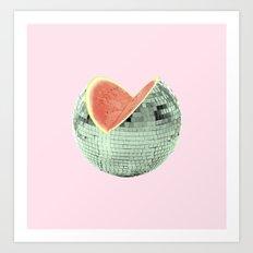 Discomelon Art Print