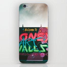 Coney Island Graffiti 2 iPhone Skin