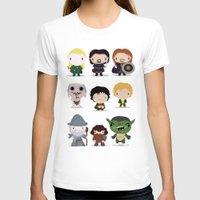 lotr T-shirts featuring LOTR by Maria Jose Da Luz