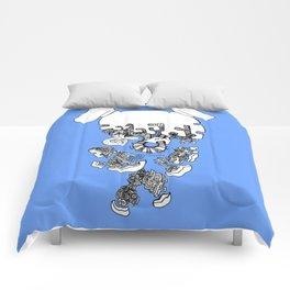 Pieces Away ( Blue) Comforters