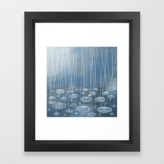 Another Rainy Day Framed Art Print