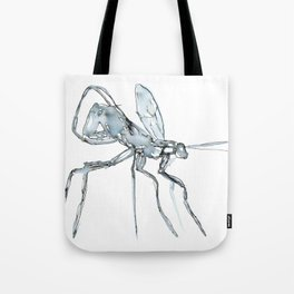 Mosquito, Watercolor Tote Bag