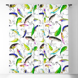 Fishing is Fly Blackout Curtain