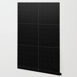 white dots on black background, star sky Wallpaper