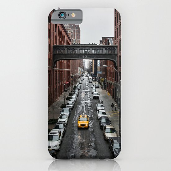 Iconic New York Taxi iPhone & iPod Case