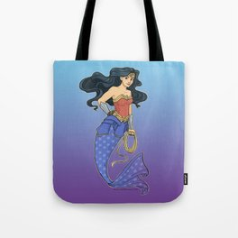 Wonder Mermaid Tote Bag