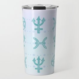 Pastel Pisces Travel Mug