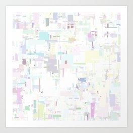 Series 9 - White Art Print