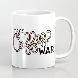 Coffee Not War (Sunset) Coffee Mug