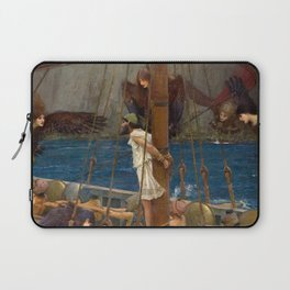 Ulysses and the Sirens - John William Waterhouse Laptop Sleeve