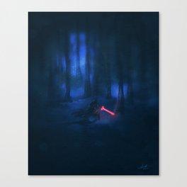 """A New Threat""   The Force Awakens Fan Art Canvas Print"