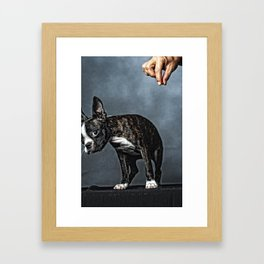 But I Didn't Mean To... Framed Art Print