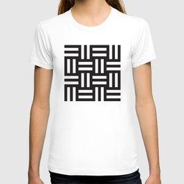Geometric Pattern #35 (rail fence) T-shirt