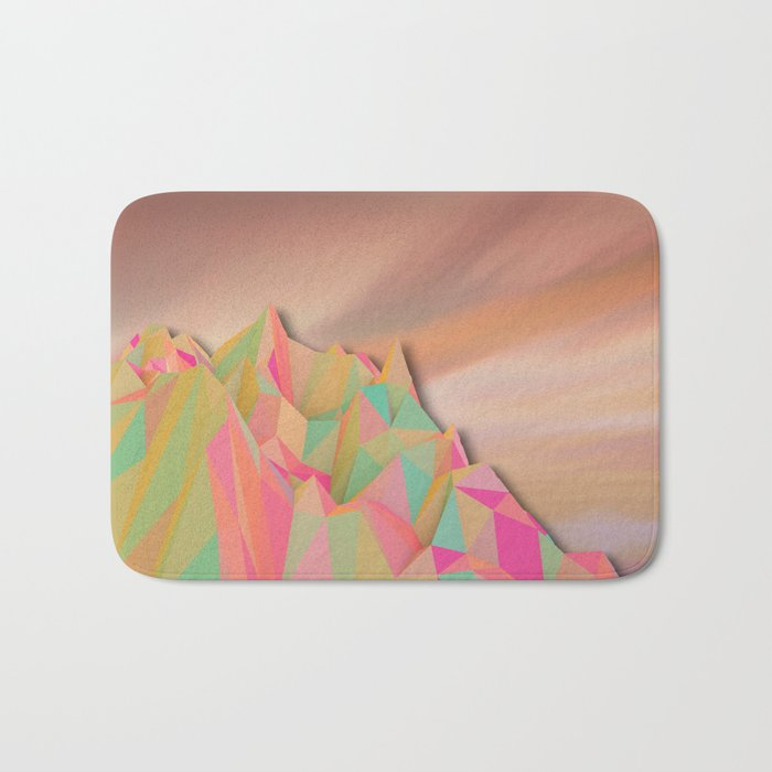 Night Mountains No. 22 Bath Mat