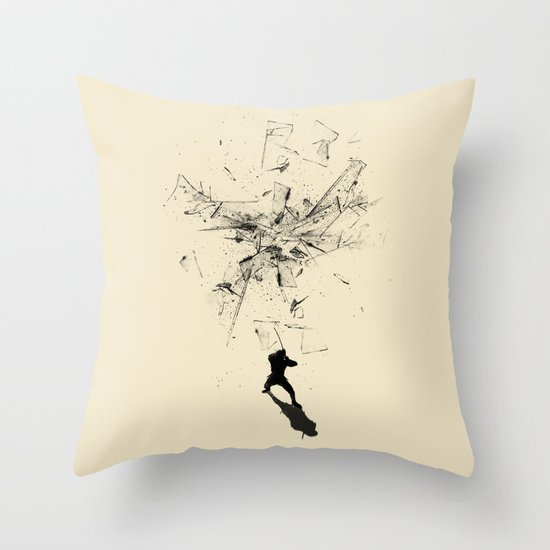 Ninja Moves Throw Pillow