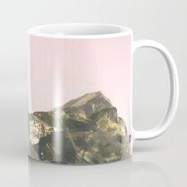 Blue Celestite Crystals Quartz Aura Said to Reduce Stress Coffee Mug