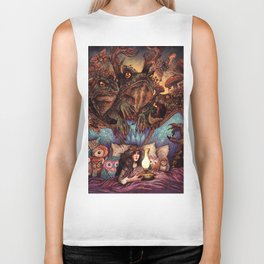 The Owl Princess And Her Night Terrors Biker Tank