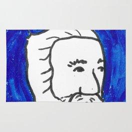 The Blue Man Rug