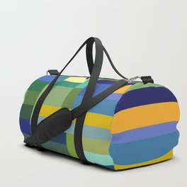 Forest Green Duffle Bag