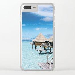 Maldives II Clear iPhone Case