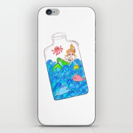Sea in the bottle iPhone Skin