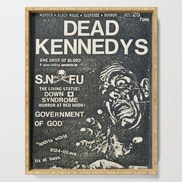 Dead Kennedys Punk Rock Flyer Serving Tray