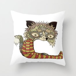 Soju Fox Throw Pillow