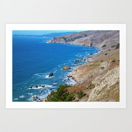 Cruisin The Coast Art Print