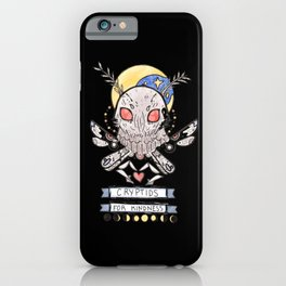 Cryptids for Kindness iPhone Case