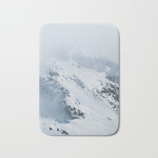Old Mountain - Minimalist Landscape Photography Bath Mat