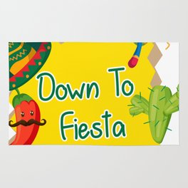 Down To Fiesta Cinco De Mayo Rug