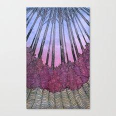 Fireweeds Canvas Print