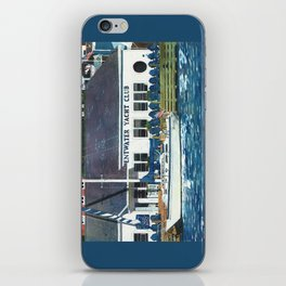 Pentwater Yacht Club iPhone Skin